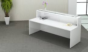 White Gloss Office Furniture by White Gloss Reception Counter Hgc2280 Somercotes Office