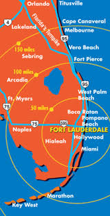 map of ft lauderdale greater fort lauderdale tourist information