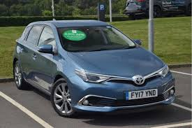 toyota auris used toyota auris excel 1 6 cars for sale motors co uk