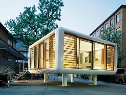 pop up house cost tiny space age loftcube prefab can pop up just about anywhere
