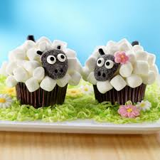 Decorated Easter Cupcakes Recipes by Sheep Cupcake Recipe Lots Of Ideas Easy Video Tutorial Lamb