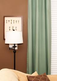 Old Curtains No Sew Lined Drapery Panels The Thrifty Abode