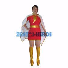 family superhero halloween costumes aliexpress com buy the marvel family mary marvel superhero