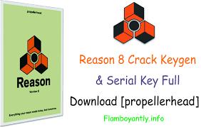 reason 8 keygen u0026 serial full download propellerhead