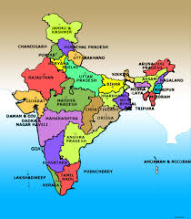 Indian Map Current Political Map Of India You Can See A Map Of Many Places