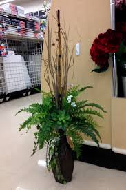 Wicker Floor Vase Greens In A Tall Vase My Michaels Designs Sba Spring