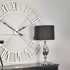 home decor exciting oversized wall clocks for wall decoration