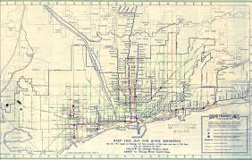 Chicago Mass Transit Map by Technology That Changed Chicago The L Continued Chicago Public