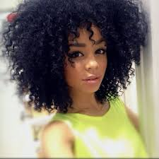 curly black hair sew in curly sew in hairstyles with bangs hair