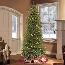 pre lit christmas tree clearance slim pre lit christmas tree uk 75 ft classic flocked virginia