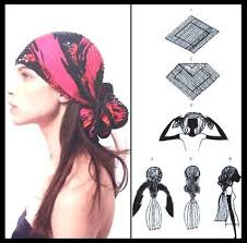 wear your scarves with different styles head wraps bandanas and