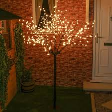 2m outdoor led cherry blossom tree connectable 320 leds