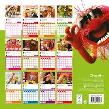 muppet stuff the muppets 2017 wall calendar by danilo