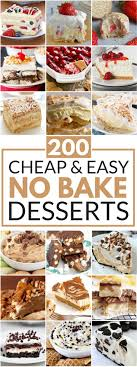 best 25 no bake desserts ideas on easy no bake