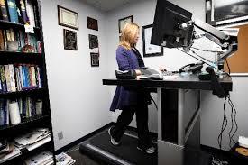 Standing Treadmill Desk by Treadmill Desks May Help Get Office Workers Moving U2013 Las Vegas