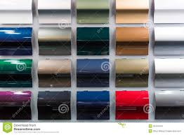 car paint samples stock images image 30447844