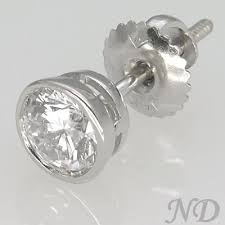 1 4 carat diamond earrings 1 1 4 carat diamond stud earrings
