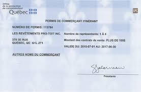 bureau protection du consommateur info pro toit inc toitures isolation rénovation