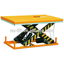 Hydraulic Scissor Lift Table by Heavy Duty Stationary Electric Hydraulic Scissor Lift Table Buy