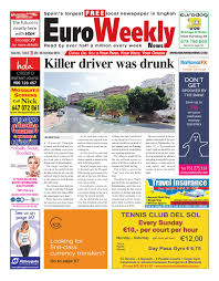 lexus granito stock code euro weekly news costa del sol 20 26 october 2016 issue 1633