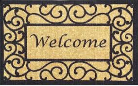 Doormat Leave Useful Doormats Make A Fashion Statement The Home Depot Community
