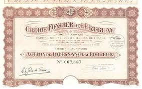credit foncier si e social credit foncier de l uruguay günstige händlerlots an historische