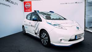 nissan christmas autonomous cars will cut emissions says nissan expert
