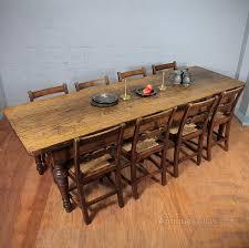 Eight Feet Long Oak Kitchen Table Antiques Atlas - Antique oak kitchen table