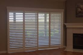 Bypass Shutters For Patio Doors Budget Blinds Waterford Lakes Fl Custom Window Coverings