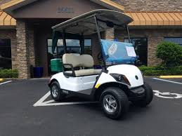 new 2017 yamaha drive2 ptv powertech 48v ac golf cart glacier