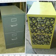 painting a file cabinet easy filing cabinet makeover using spray paint and adhesive shelf