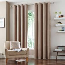 Lined Cotton Curtains Natural Vermont Lined Eyelet Curtains Dunelm For The Home