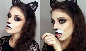 easy cat make up for halloween cute u0026 simple giulianna