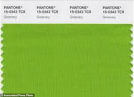 2017 Colors Of The Year Zesty U0027greenery U0027 As Pantone Color Of The Year 2017 F Trend