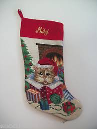 personalized needlepoint christmas christmas collection on ebay