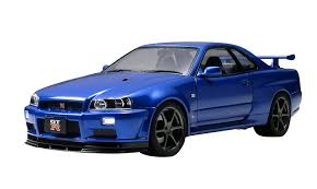 tamiya 1 24 nissan skyline gt r v spec ii r34 toy japan