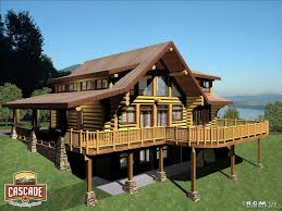 log home floor plans 1500 2400 sq ft cascade handcrafted log homes