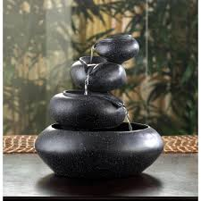 wholesale four tier bowl granite finish tabletop fountain relaxing