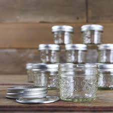 ball mason ball jar crystal jelly jars with lids and bands quilted 4 ounce