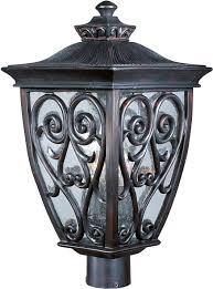 Lantern Style Outdoor Lighting by Newbury Vx 3 Light Outdoor Pole Post Lantern Outdoor Pole Post