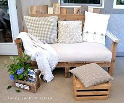 make an outdoor pallet sofa that u0027s comfy and cute hometalk