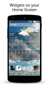 weather live apk weather live with widgets free apk for android