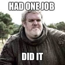 Hodor Meme - hold the door memes from game of thrones prove fans are gutted
