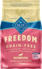 blue buffalo freedom small breed chicken recipe grain free
