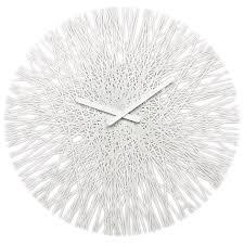 coolest wall clocks amazon com koziol silk wall clock white home u0026 kitchen