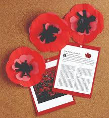 make a remembrance day poppy canadian living