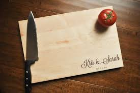 wedding gift cutting board personalized cutting board engraved cutting board custom