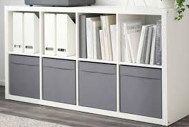 Kallax Filing Cabinet Storage Boxes Baskets Ikea