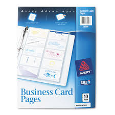 Avery 5871 Business Cards Avery Business Card Pages Sunbelt Paper Packaging Business Card
