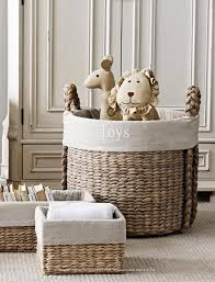 home decorators elephant hamper baskets nursery storage toy and book organization child u0027s